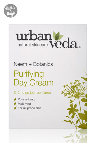 Urban Veda Purifying Day Cream at Hattie & Hugh