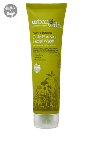 Urban Veda Purifying Daily Facial Wash at Hattie & Hugh