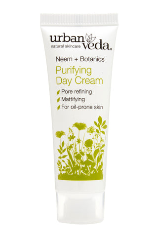 Urban Veda Purifying Day Cream 10ml Sample at Hattie and Hugh