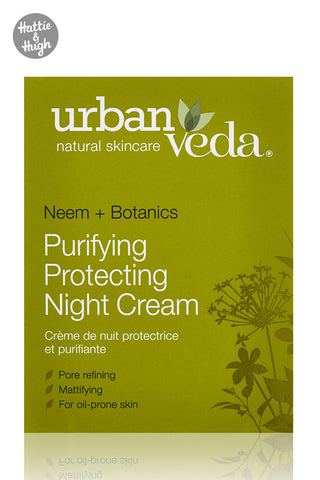 Urban Veda Purifying Protecting Night Cream at Hattie & Hugh