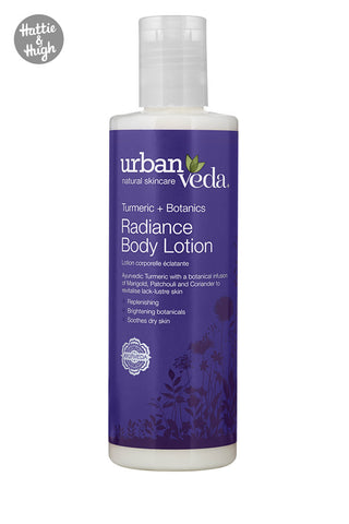 Urban Veda Radiance Body Lotion at Hattie & Hugh