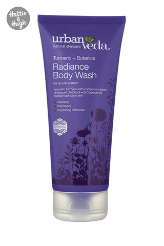Urban Veda Radiance Body Wash at Hattie & Hugh