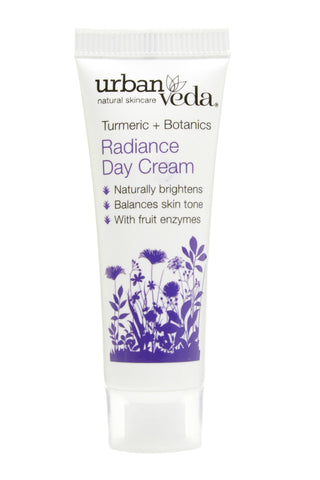 Urban Veda Radiance Day Cream 10ml sample at Hattie and Hugh