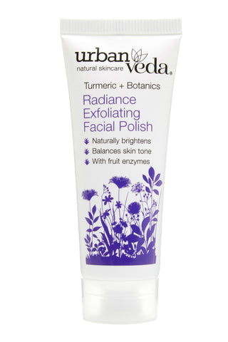 Urban Veda Radiance Exfoliating Facial Polish Sample Size at Hattie and Hugh
