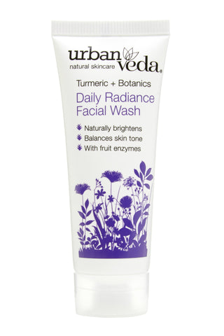 Urban Veda Radiance Daily Facial Wash 20ml Sample at Hattie & Hugh