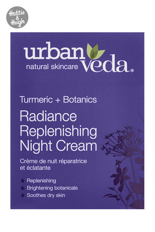 Urban Veda Radiance Replenishing Night Cream at Hattie & Hugh