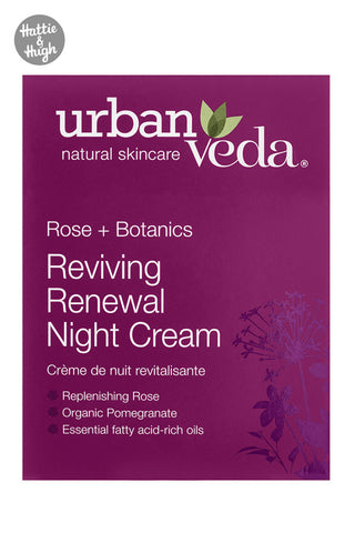 Urban Veda Reviving Renewal Night Cream at Hattie & Hugh