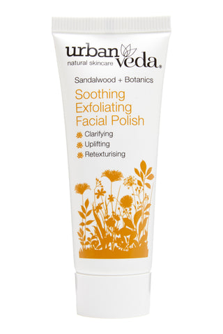 Urban Veda Soothing Exfoliating Facial Polish 20ml Sample Size at Hattie and Hugh