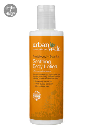Urban Veda Soothing Body Lotion at Hattie & Hugh