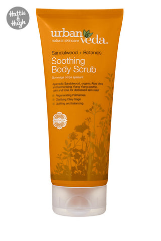 Urban Veda Soothing Body Scrub at Hattie & Hugh
