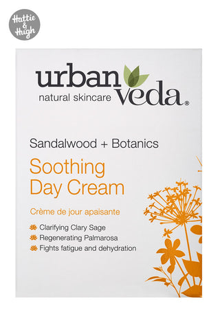 Urban Veda Soothing Day Cream at Hattie & Hugh