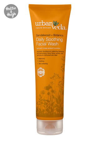 Urban Veda Soothing Daily Facial Wash at Hattie & Hugh