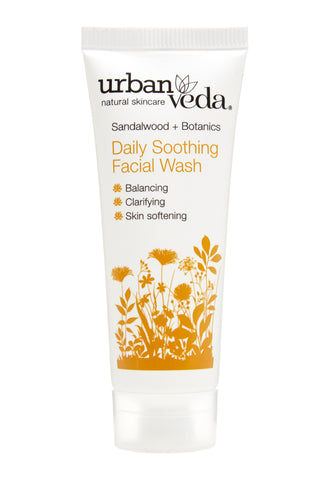Urban Veda Soothing Daily Facial Wash 20ml Sample at Hattie & Hugh