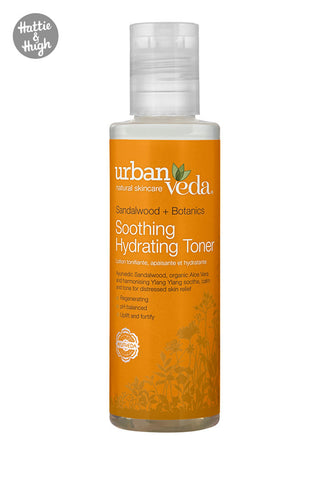 Urban Veda Soothing Hydrating Toner at Hattie & Hugh