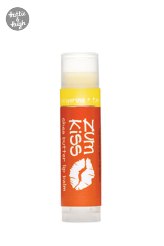 Zum Kiss Shea Butter Lip Balm in Tangerine 4.3g