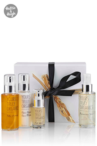 Yours Truly Organics Gift Box at Hattie & Hugh