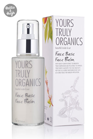Yours Truly Organics Face Base Face Balm at Hattie & Hugh