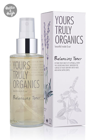 Yours Truly Organics Balancing Toner at Hattie & Hugh