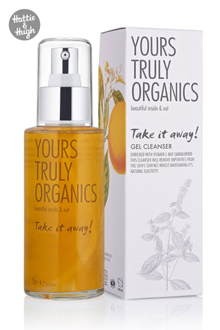 Yours Truly Organics Take It Away Gel Cleanser at Hattie & Hugh
