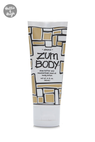 Zum Body Shea Butter Body Lotion Tube in Almond 59ml at Hattie & Hugh