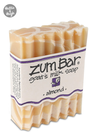 Indigo Wild Zum Bar Soap in Almond at Hattie & Hugh angle
