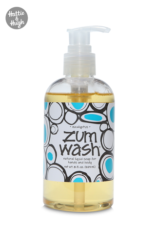 Zum Wash Shower Gel and Hand Wash in Eucalyptus at Hattie & Hugh UK