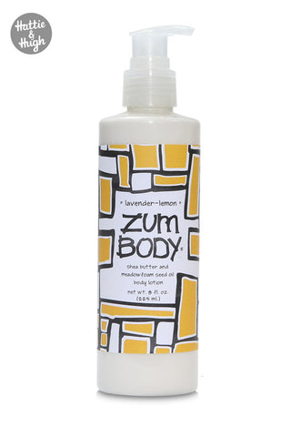 Zum Body Shea Butter Body Lotion in Lavender-Lemon 225ml