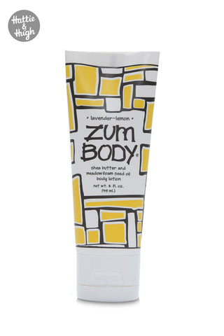 Zum Body Shea Butter Body Lotion Tube in Lavender-Lemon 59ml at Hattie & Hugh