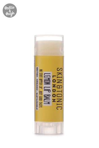 Skin & Tonic London Lemon Lip Balm at Hattie & Hugh