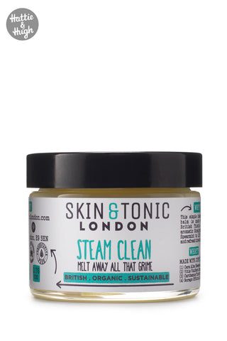Skin & Tonic London Steam Clean 50g + Cotton Cloth