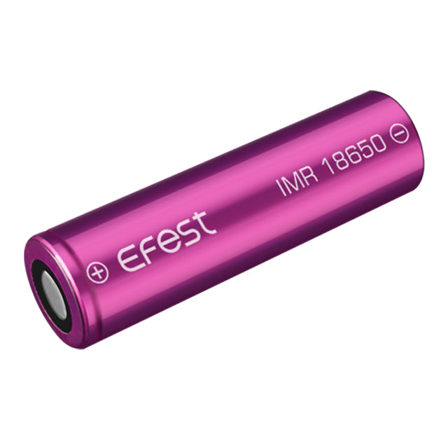 Genuine Efest IMR 18650 3500mAh 20Amp Rechargeable flat top Battery