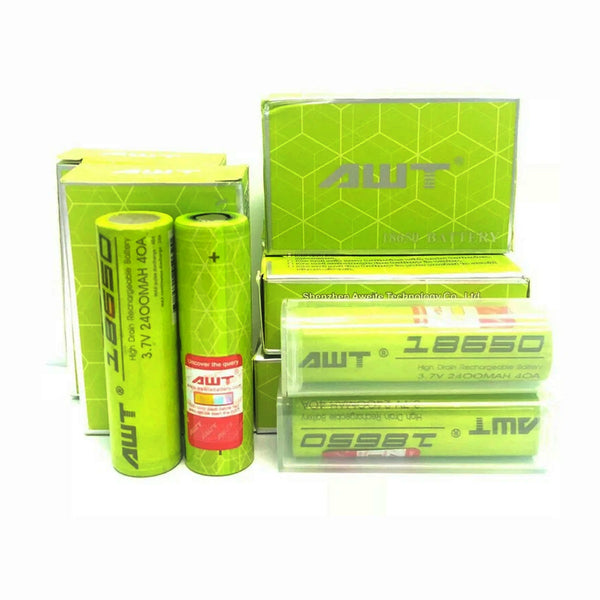 AWT 18650 2400mAh Rechargeable Battery
