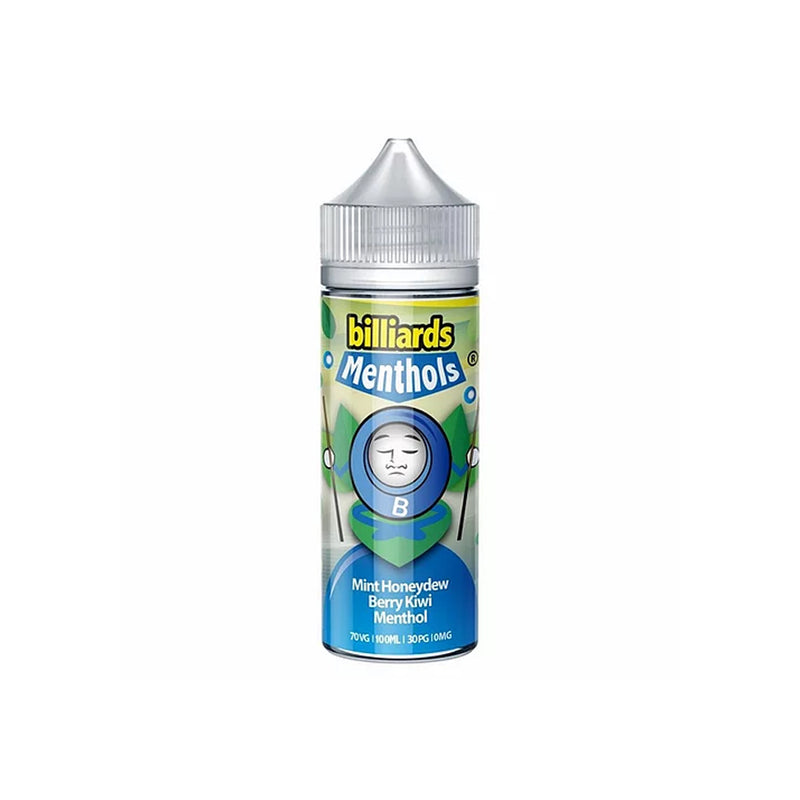 Billiards Premium E Liquid  70VG 30PG (Menthol) Series