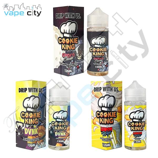 Candy King USA made 120ml Shortfill VG/PG 80/20 E liquid Vape Juice with free Nic shots
