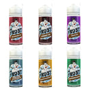 Dr Frost 120ml UK made E liquid Shortfill VG/PG 70/30 with free Nic Shots