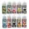 Fads UK made 80ml E liquid Vape Juice 50/50 VG/PG With Free Nic Shot