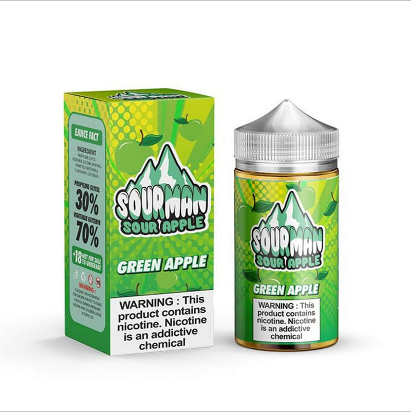 Sourman 200ml UK made E liquid high VG Vape juice