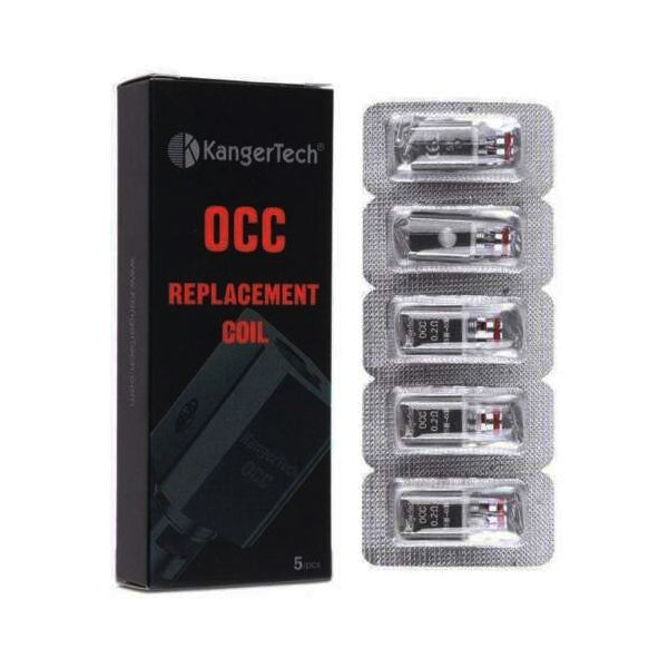 Genuine Authentic Kangertech subohm OCC 0.5Ω Replacement Coils