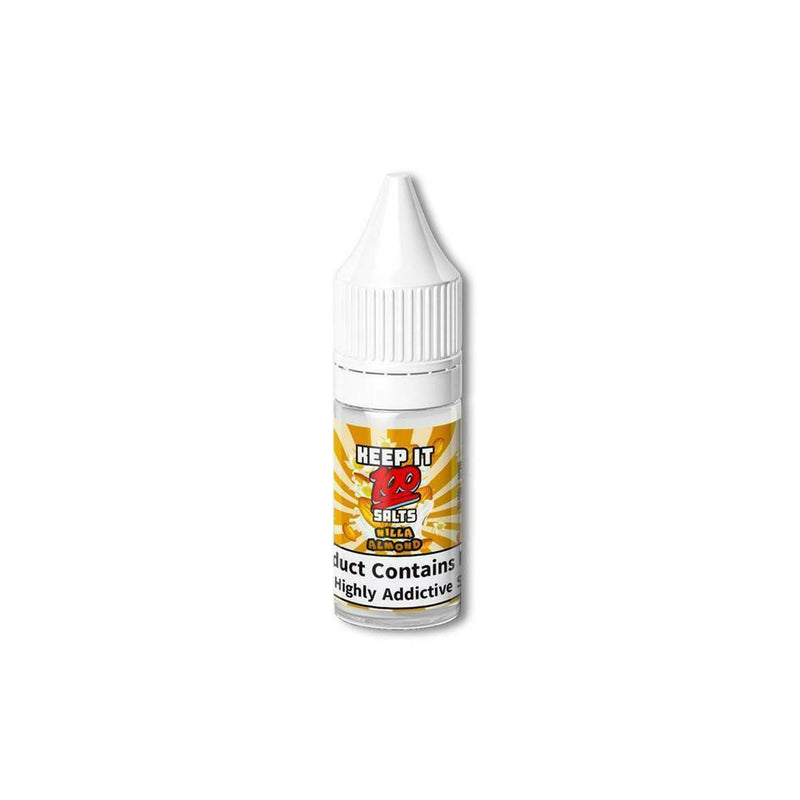 Keep It 100 10 x 10ml flavored Nic Salt 10mg/20mg VG/PG 50/50