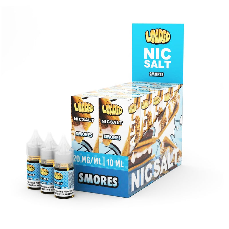 Loaded 10 Bottles x 10ml Nic Salt