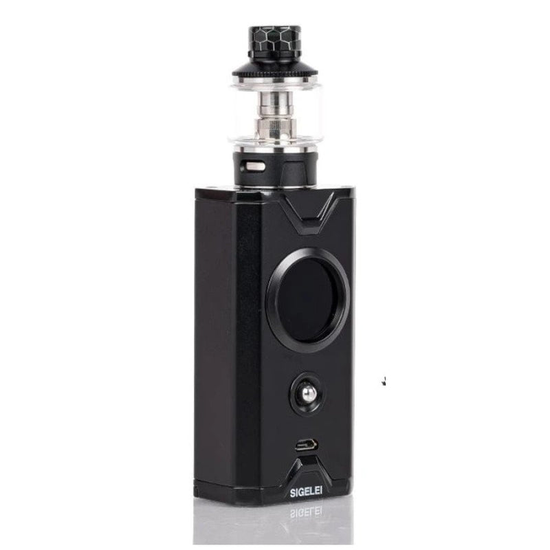 Genuine Sigelei Chronus 200w 2ml Tank - Black Full Vape Kit