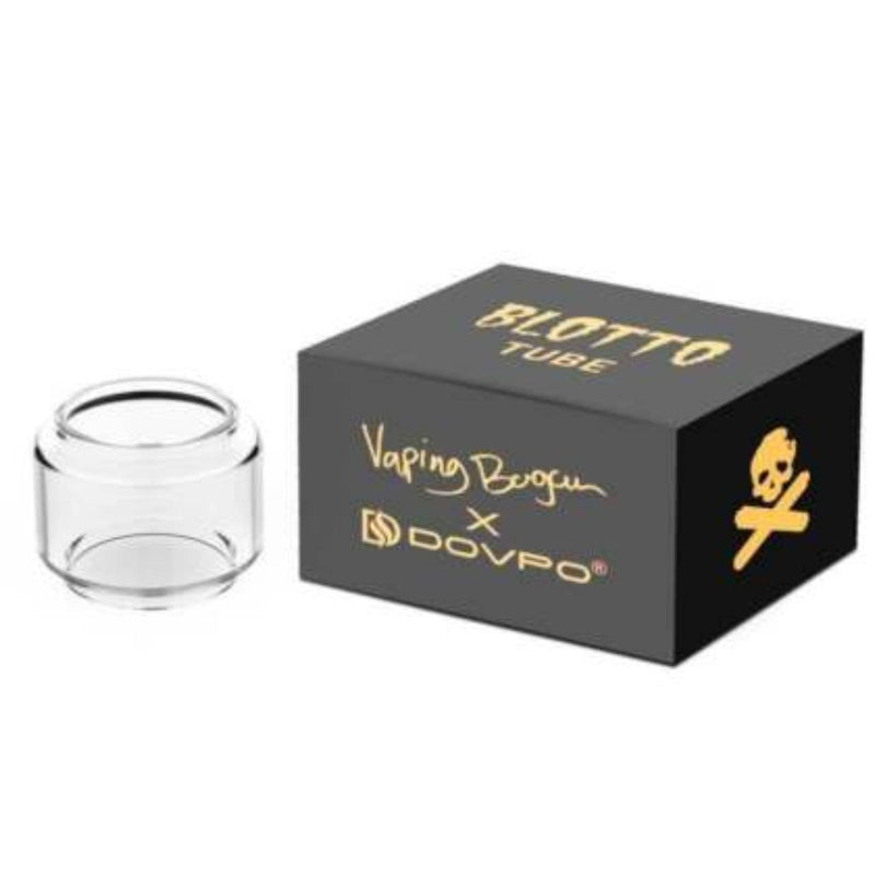 100% Authentic Dovpo Blotto RTA Mini Tank - Bubble Glass 6ml Pyrex Replacement Fat Boy Glass
