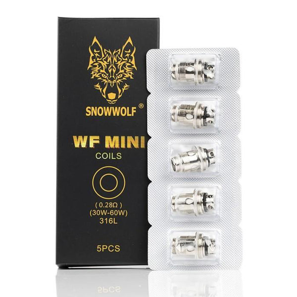 Genuine Snowwolf WF Mini 0.28Ω Or WF-H Mini 0.25Ω Replacement Coils