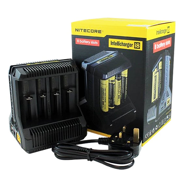Nitecore Intellicharger i8 8 Bay Battery Charger
