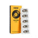 Genuine OBS Mini Replacement  Coils S1/N1 ohm Pack of 5 pcs