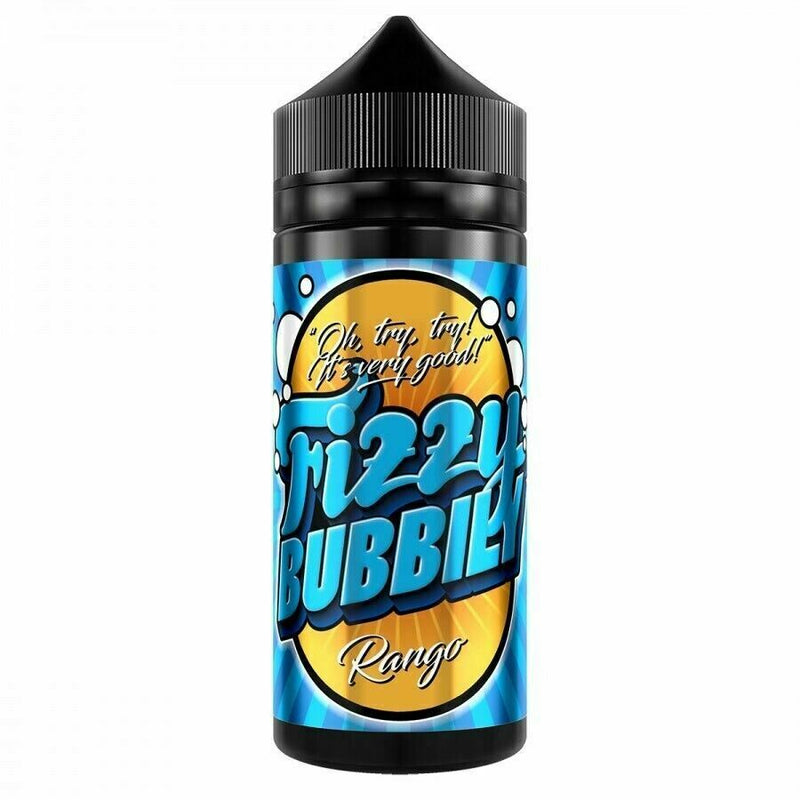 Fizzy Bubbly UK made 120ml E liquid Shortfill VG/PG 75/25 with free Nic shots