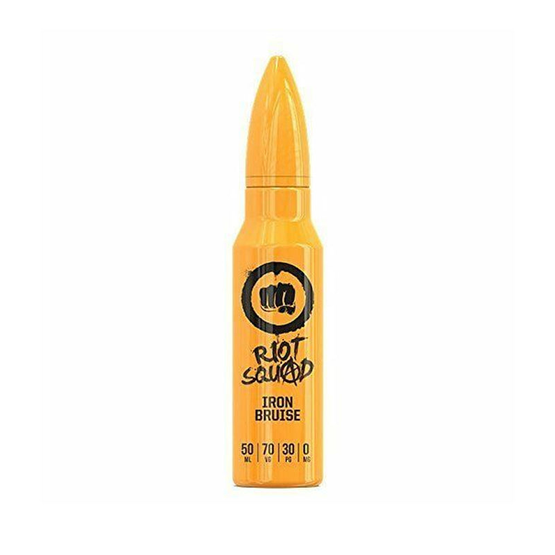 Riot Squad UK made 60ml High VG E liquid vape juice with free Nic shots