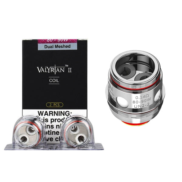 Uwell Valyrian 2 Coils Single/ Dual/ Triple/ Quad Mesh Pack Of 2