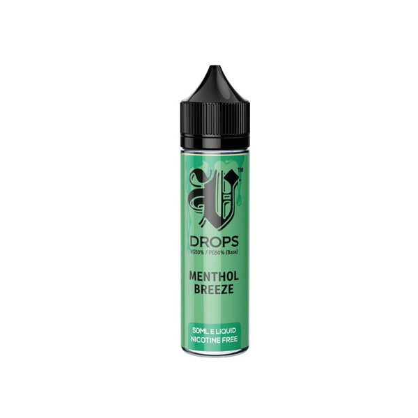 V Drops Premium E-Liquid Vape Juice 50ml
