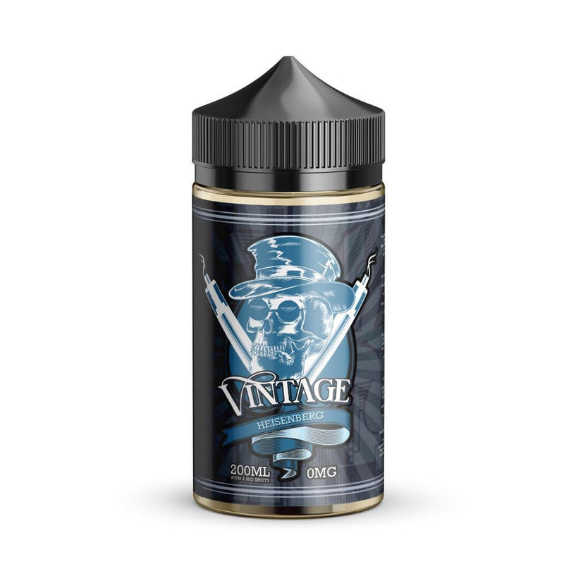 Vintage 200ml e liquid Heisenberg